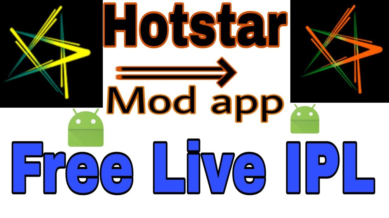 How To Watch Live Ipl Hotstar Mod Apk Apps Education Youtube