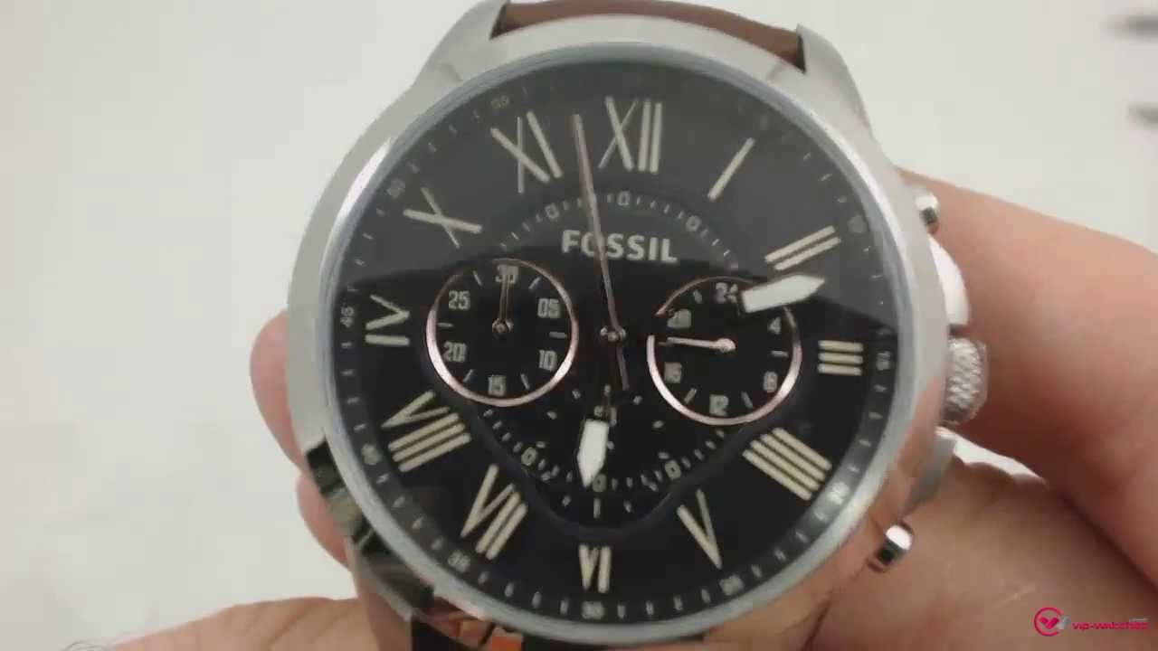 Favori Fossil - FS4813 - YouTube UW81