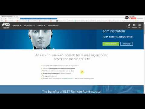Install ESET Remote Administrator 6 on ESXi vSphere 6