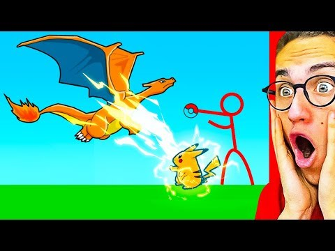 Reacting To THE GREATEST POKEMON STICK FIGHT ANIMATION!