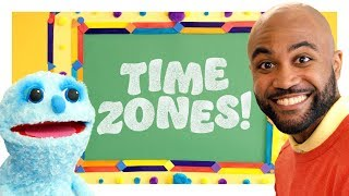 Bicoastal Time Zone Lesson‬