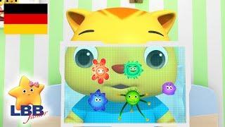 Neues Lied  Gute Besserung  Karikatur für Kinder  Kinderlieder  Little Baby Bum Junior Deutsch