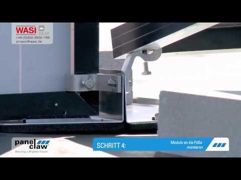 Photovoltaik Montagesystem Polar Bear FR Gen II für Flachdächer Deutsch