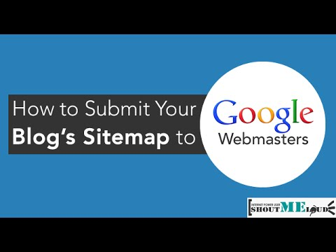 how to submit sitemap to google webmaster 2016 youtube