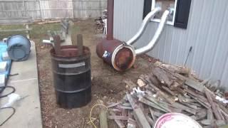 barrel stove part 3