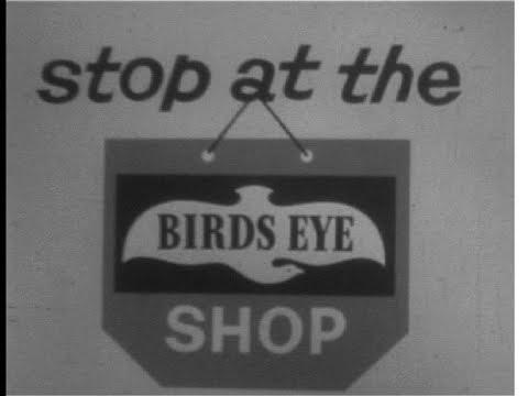 Birds Eye Fish Fingers Advert - Stop At The Birds Eye Shop