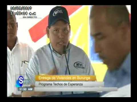 SERTV Presidente Juan Carlos Varela en la Entrega de Viviendas en Burunga