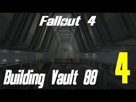 Fallout 4 Let's Play Building Vault 88 Atrium 4 Restaurant Residential