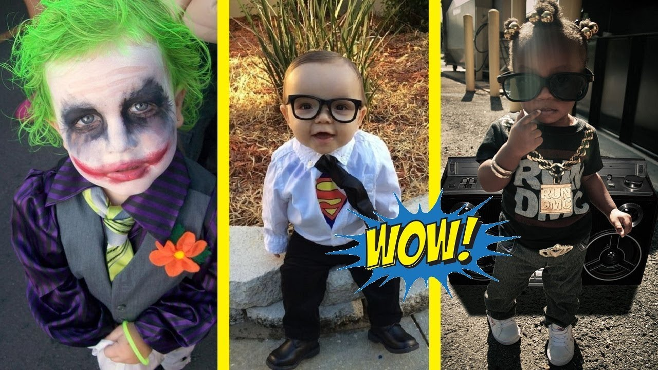 creative and funny halloween costume ideas for kids - youtube