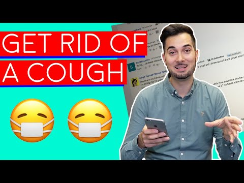 Cough | Home Remedies For Cough | How To Get Rid Of A Cough