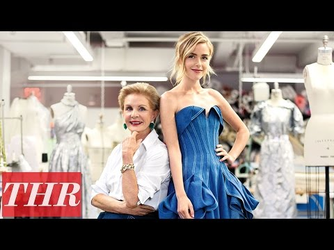 Kiernan Shipka & Carolina Herrera: Top Red Carpet Designers - Behind the Scenes | THR