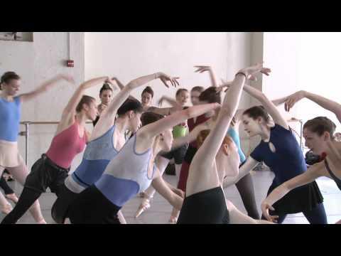 Pennsylvania Ballet: Nutcracker rehearsal footage 2010