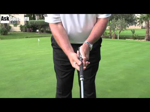 Putting Grips How to Hold the Putter