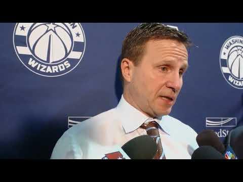 Scott Brooks Post Match Interview   Charlotte Hornets v Washington Wizards  HD
