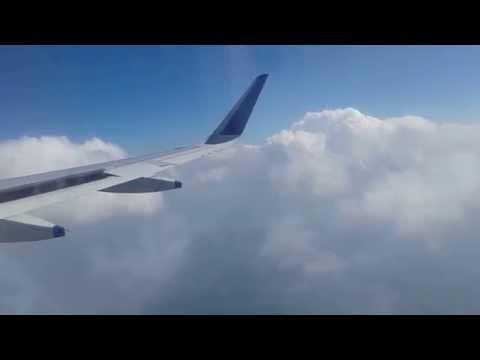 GoIndigo flight landing at Varanasi Airport