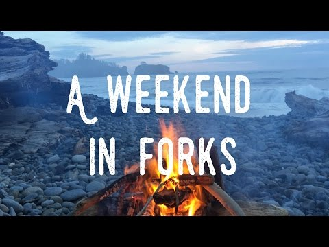 A weekend in Forks