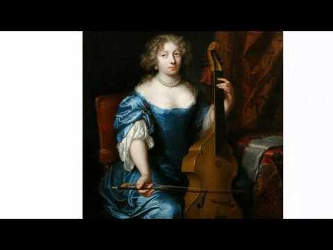 Gigue in d-minor by Carolus Hacquart for viola da gamba and b.c.