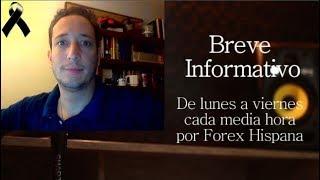 Breve Informativo - Noticias Forex del 25 de Octubre 2018