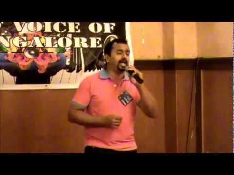 GULF VOICE OF MANGALORE 2012 KUWAIT AUDITIONS- Orson Albert D'Souza (#11)