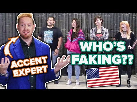 Hollywood Dialect Coach Guesses Who Is Faking An American Accent