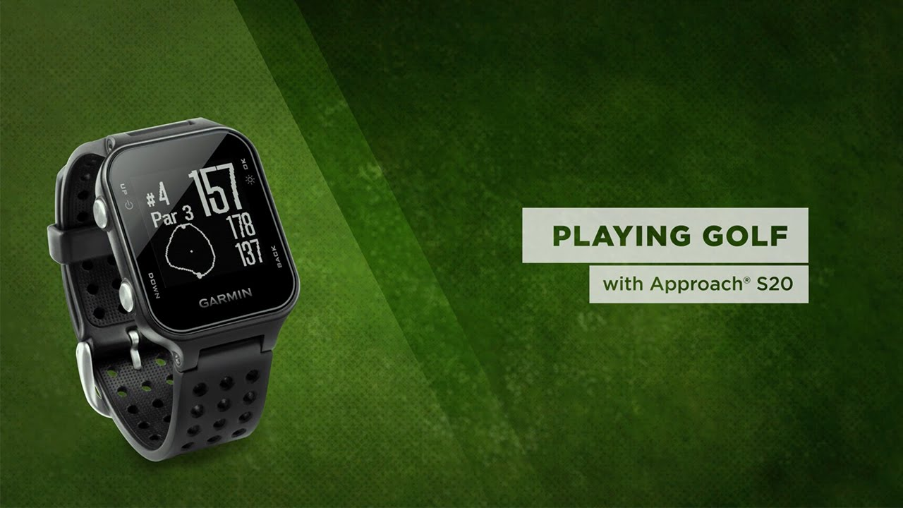 b8d6569a648bf6 Garmin Approach S20 Golf GPS Watch - Free Shipping | PlayBetter