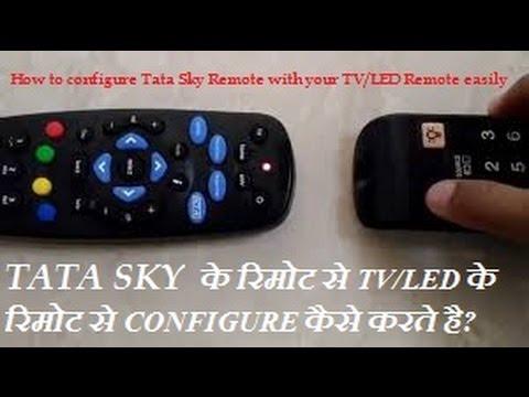 How to configure TATA Sky Universal Remote...