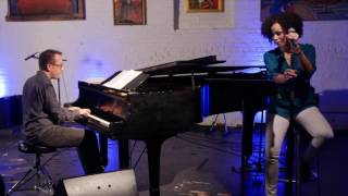"Gillian Margot, Geoffrey Keezer covers ""Power Flower"" Stevie Wonder"
