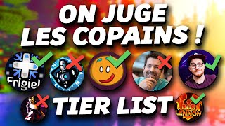 Tier List Youtubers Minecraft : On note les copains ! 😈