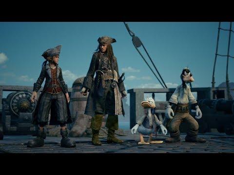 KINGDOM HEARTS III – E3 2018 Pirates of the Caribbean Trailer