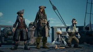 KINGDOM HEARTS III - E3 2018 Pirates of the Caribbean Trailer