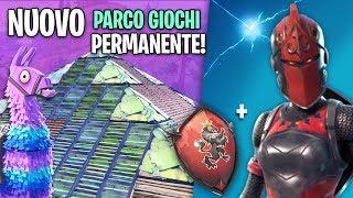 UN NUOVO PARCO GIOCHI Permanente ANNUNCIATO! INFO SCUDO del Cavaliere! Fortnite Italia