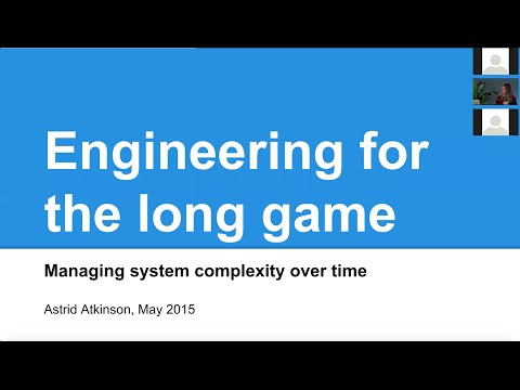 Engineering for the Long Game: Managing System Complexity Over Time