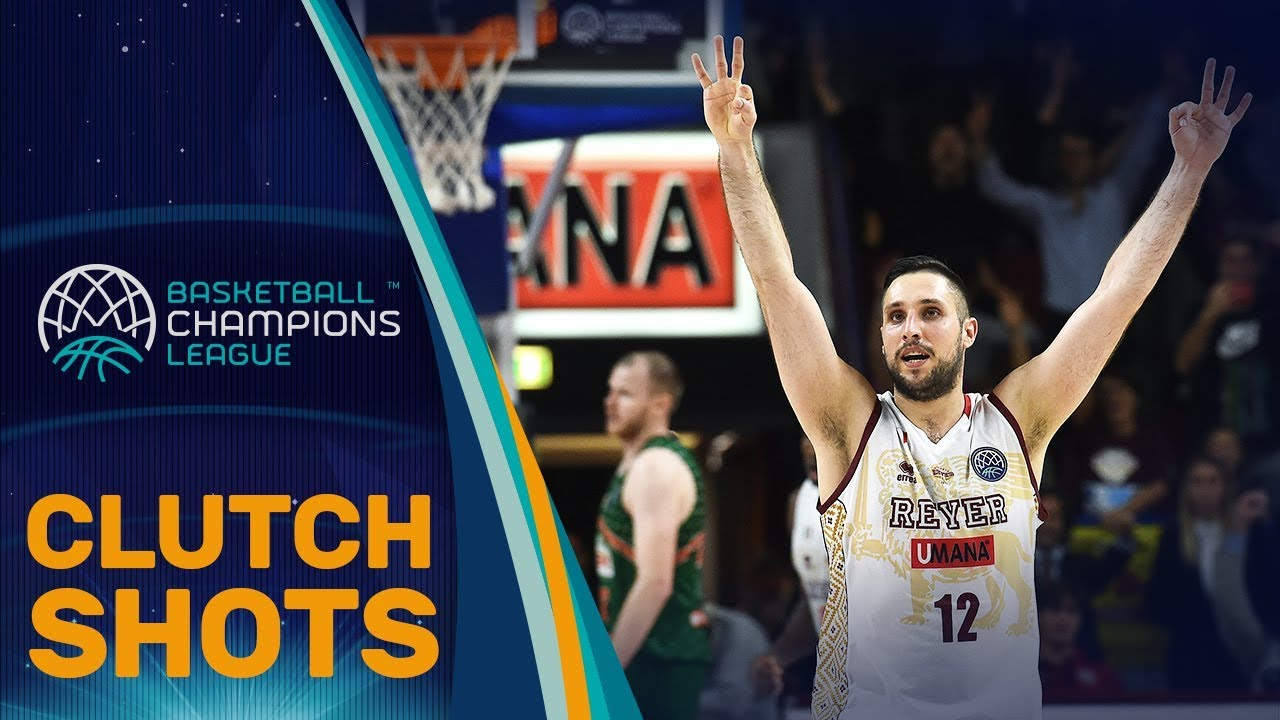 The Most Clutch Shots of the Basketball Champions League 2017