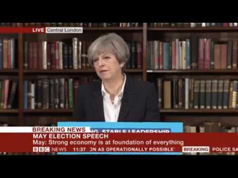 Theresa May Getting Absolutely Mauled by the Media