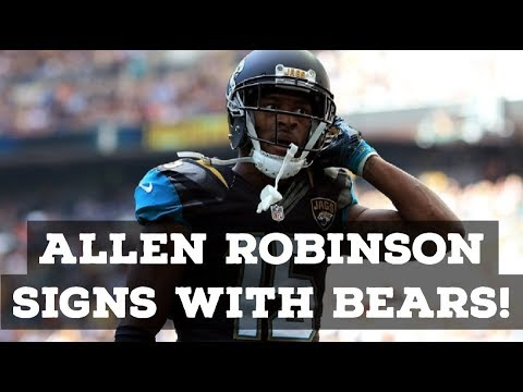 Allen Robinson SIGNS With The Chicago Bears! Reaction & Full Analysis!