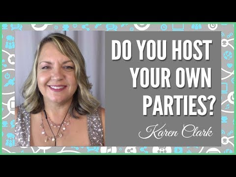 Direct Sales/Party Plan: Do your host your OWN parties?