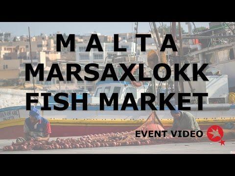 Malta Marsaxlokk Sunday Fish Market