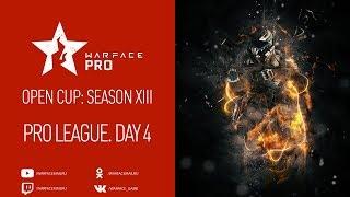 Open Cup: Season XIII Pro League. Day 4