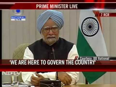 PM Manmohan Singh's 2011 meet with Editors