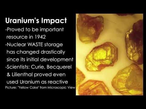 Group R: Uranium