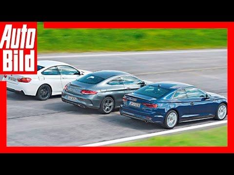A5 Coupé/430i Coupé/C 300 Coupé - Drei Premium-Coupés im Vergleich