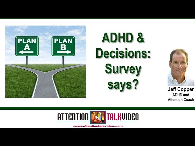 ADHD and Decisions
