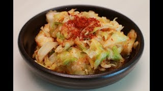 Настоящая корейская кухня: КИМЧИ из капусты.