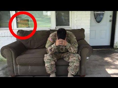 Eroe Militare Torna a Casa dopo una Missione e Scopre una Scena Sconcertante