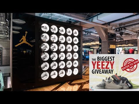 Sneaker Shopping in Chicago & Information about the BIGGEST YEEZY Giveaway Ever