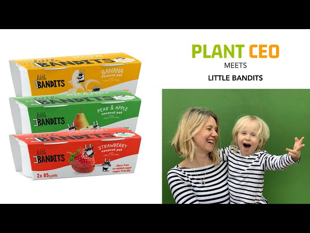 PLANT CEO #5 - Little Bandits creating an allergy free, plant-based, yogurt brand for kids