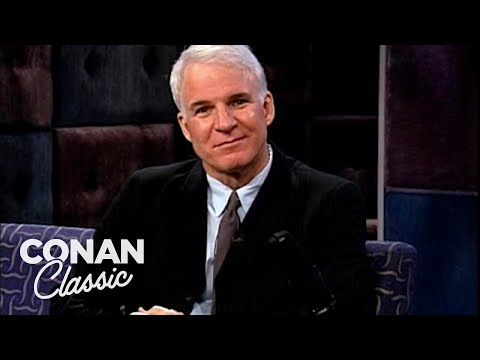 "Steve Martin Didn't Plan A Bit - ""Late Night With Conan O'Brien"""