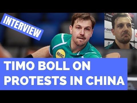 TIMO BOLL - SURPRISED BY PROTESTS AT 2017 CHINA OPEN!