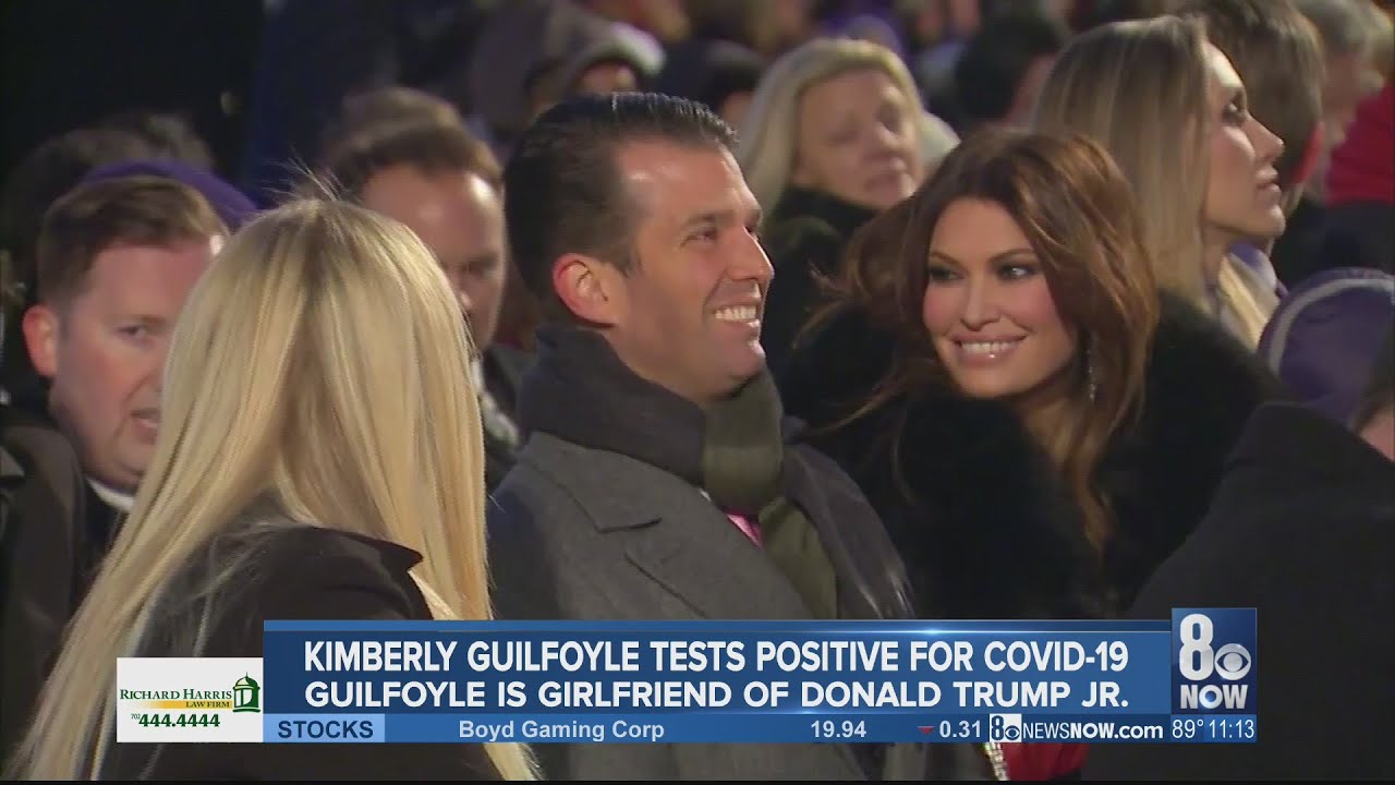 Kimberly Guilfoyle tests positive for COVID-19