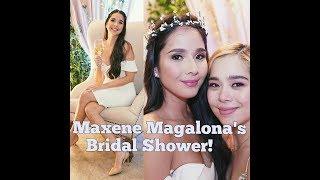 WATCH MAXENE MAGALONA'S CHIC BEAUTIFUL THEMED BRIDAL SHOWER!